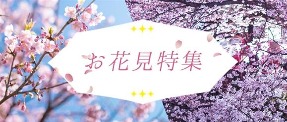 【季節】お花見特集